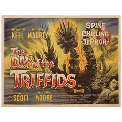 Day of the Triffids, the 1962 Poster