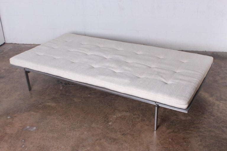 Daybed Designed by Preben Fabricius & Jorgen Kastholm for Bo-Ex In Good Condition For Sale In Dallas, TX