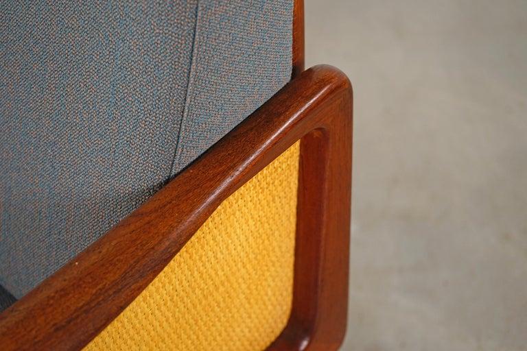 Daybed Sofa by Peter Hvidt & Orla Mølgaard Nielsen for France & Søn In Good Condition For Sale In Munster, NRW