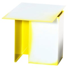 Daze White and Yellow Coffee Table