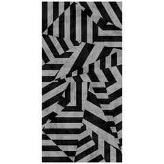 Dazzle Wallpaper in Black by 17 Patterns