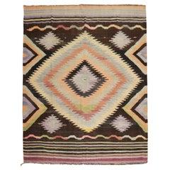Dazzling Room Kilim Flat-Weave