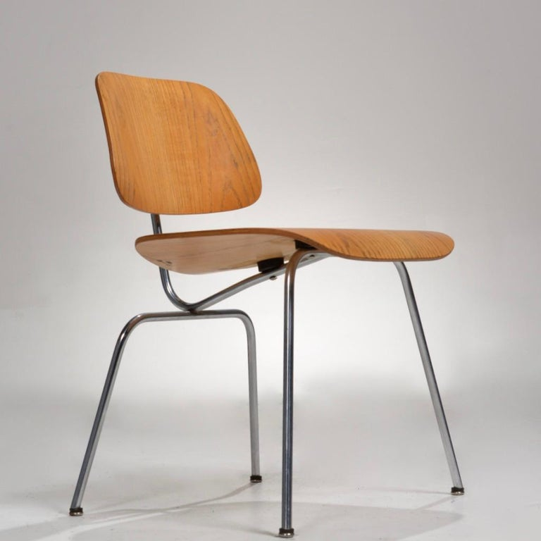 DCM chair (Dining metal chair) by Charles and Ray Eames for Herman Miller.