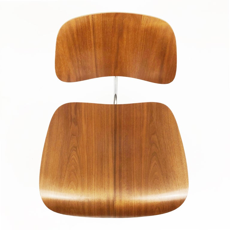 Molded DCM Chairs by Charles and Ray Eames for Herman Miller For Sale