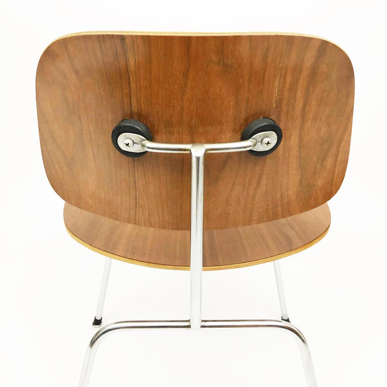 DCM Chairs by Charles and Ray Eames for Herman Miller In Good Condition For Sale In Denver, CO