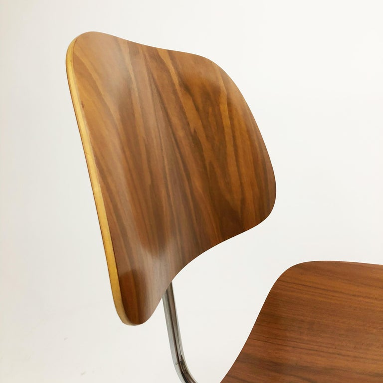 Plywood DCM Chairs by Charles and Ray Eames for Herman Miller For Sale