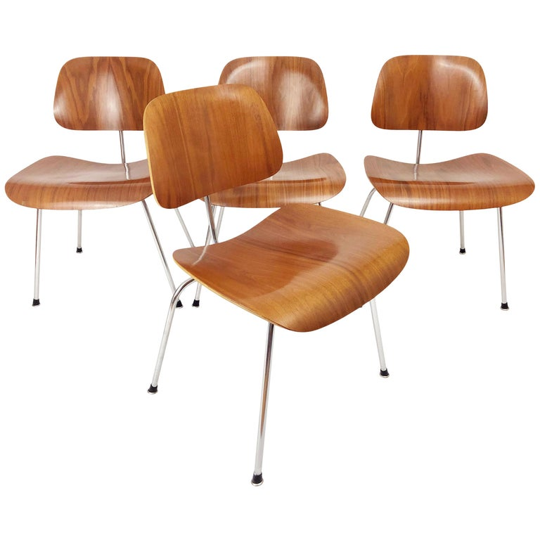 DCM Chairs by Charles and Ray Eames for Herman Miller For Sale