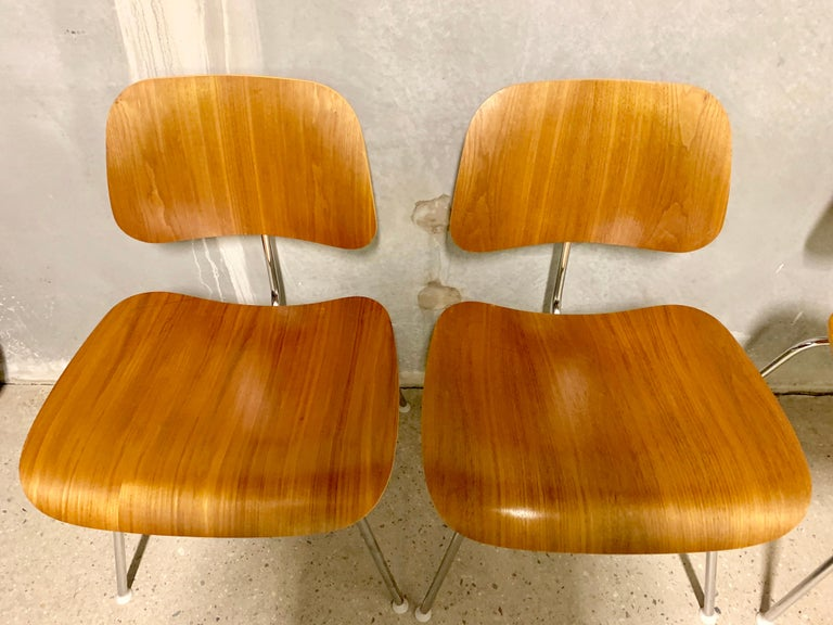 DCM Charles Eames for Herman Miller, Set of Four 3