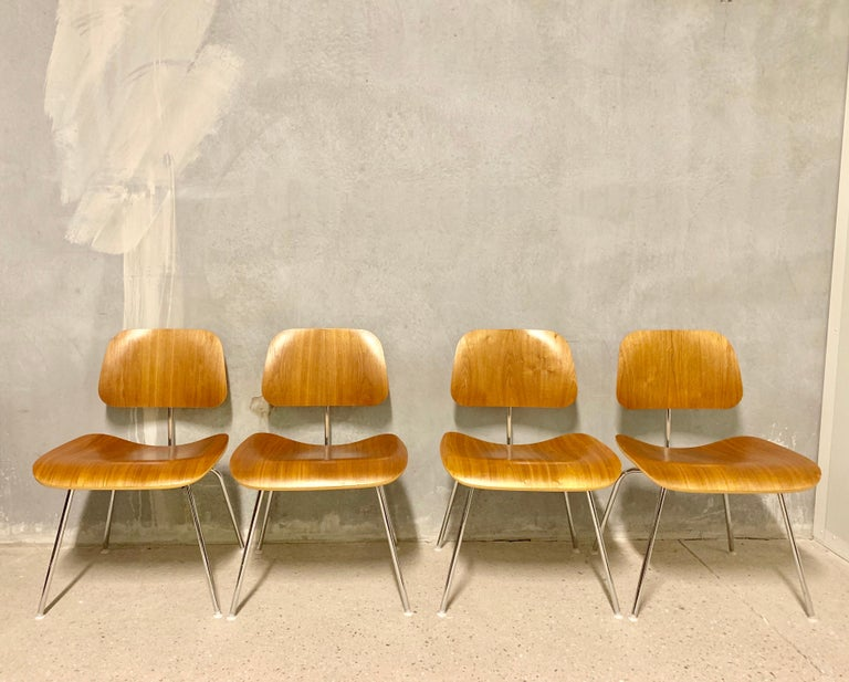 DCM Charles Eames for Herman Miller, Set of Four 5