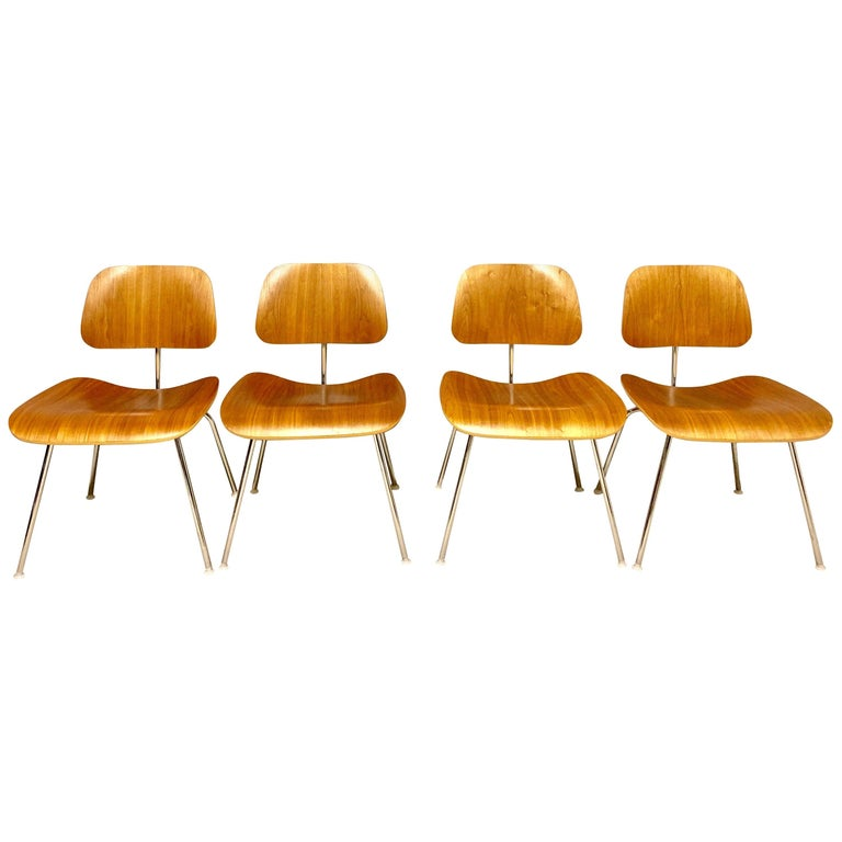 DCM Charles Eames for Herman Miller, Set of Four