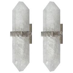 DDN Rock Crystal Sconces by Phoenix
