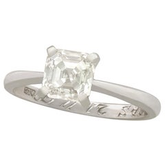 De Beers 1.20 Carat Diamond Platinum Ring