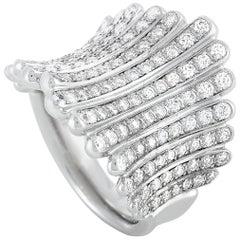De Beers Platinum 1.65 Carat Diamond Ring