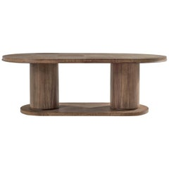 De Coene Dining Table in Cerused Oak