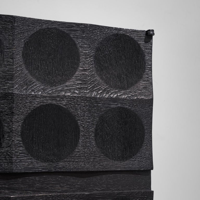 De Coene Large Sideboard in Darkened Oak For Sale 3