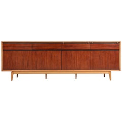 De Coene Madison Credenza in Rosewood and Walnut