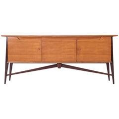 De Coene Mid-Century Modern Vintage 1950s Two Tone Sideboard