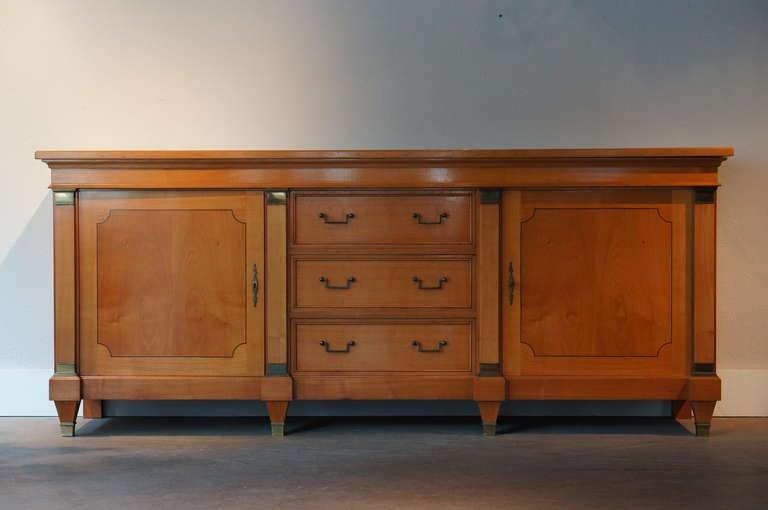 De Coene Sideboard in Cherry Wood In Good Condition For Sale In Antwerp, BE
