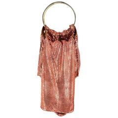 De Couture Metal Mesh Crossbody Bag