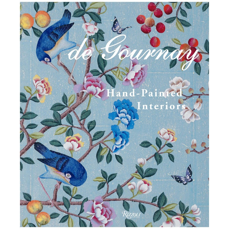 de Gournay Hand-Painted Interiors For Sale