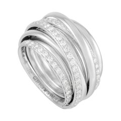 De Grisogono Allegra 18k White Gold 2.05 Ct Diamond Ring