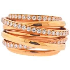 De Grisogono Allegra Diamond Gold Ring