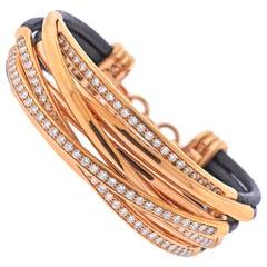 De Grisogono Allegra Rose Gold Diamond Bracelet