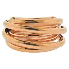 De Grisogono Allegra Rose Gold Dome Ring