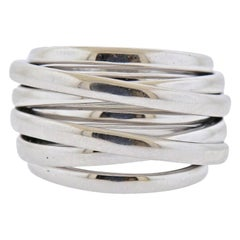 De Grisogono Allegra White Gold Dome Ring
