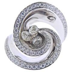 de Grisogono Chiocciolina White Gold Diamond Ring