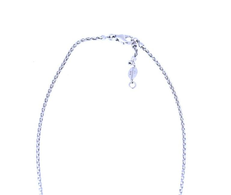 De Grisogono Contratio Pendant Sapphire Peridot Tourmaline Signed 18K Gold, 2010 In Good Condition For Sale In Herzelia, IL