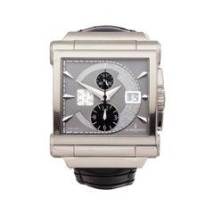De Grisogono Grande Chrono 18 Karat White Gold N04 Wristwatch