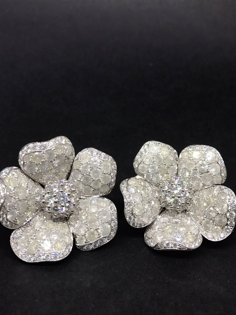 studs large earrings diamond carats stud custom design halo