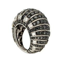 de GRISOGONO 'MOSAICA' Gold Diamonds Cocktail Ring