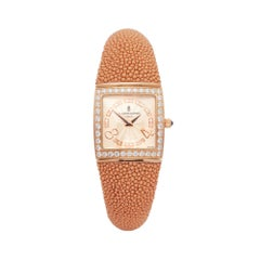 De Grisogono Piccolina 18 Karat Rose Gold S03M Wristwatch