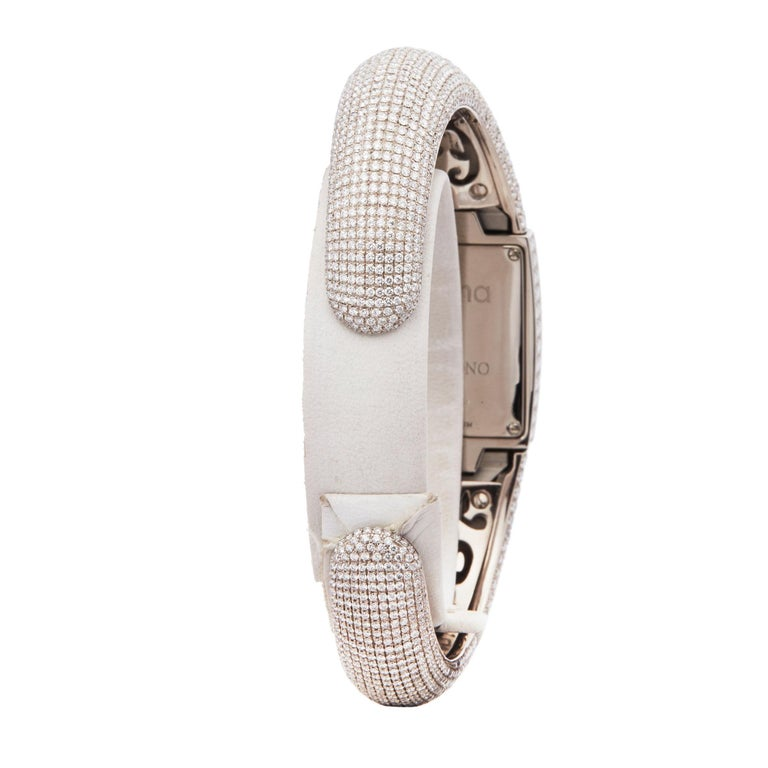 De Grisogono Piccolina 18K White Gold S14B Wristwatch For Sale 1