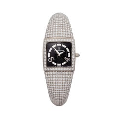 De Grisogono Piccolina 18K White Gold S14B Wristwatch