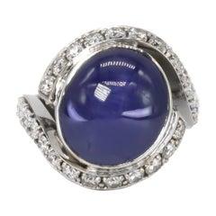 De Grisogono Sapphire and Diamond Ring