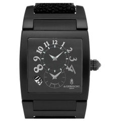 De Grisogono Uno DF N726 Stainless Steel Black Dial Automatic Watch