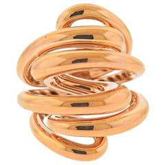 De Grisogono Vortice Gold Dome Ring