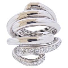 de Grisogono Vortice White Gold Diamond Ring