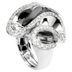 De Grisogono White Gold Diamond Cocktail Ring