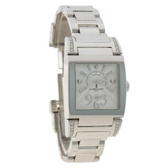 De Grisogono White Stainless Steel & Diamond Instrumentino Women's Wristwatch