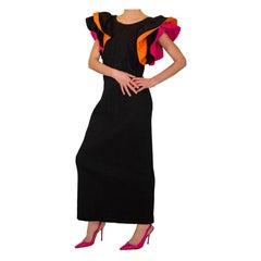 Mexicana Flared Sleeve Dress 1970s
