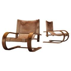 De Pas, D'Urbino and Lomazzi for Poltronova 'Scacciapensieri' Lounge Chairs