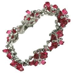 De Rosa Floral Fruit Salad Link Bracelet
