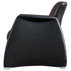 De Sede Black Leather Armchair