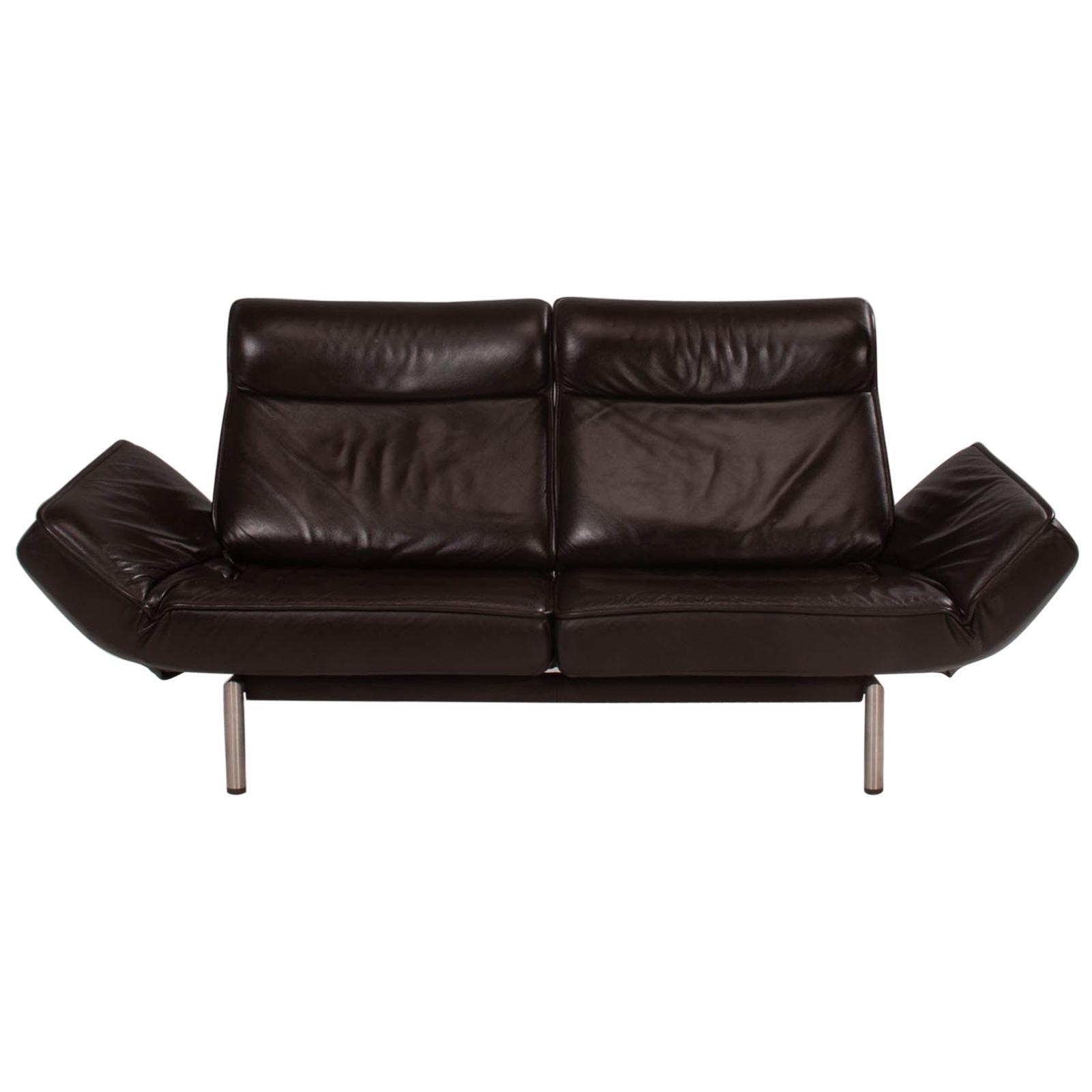 De Sede by Thomas Althaus DS-450 Brown Leather Sofa