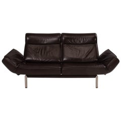 De Sede by Thomas Althaus DS-450 Brown Leather Sofa