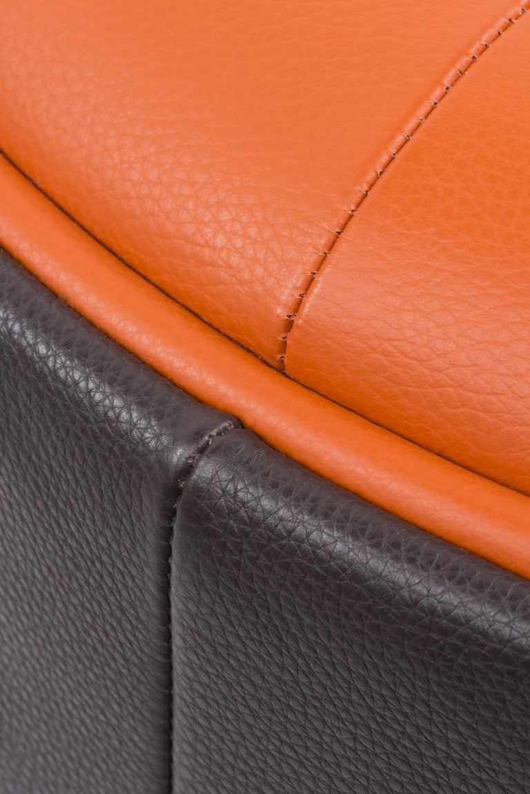 De Sede Customizable Leather Rocking Chair For Sale 1